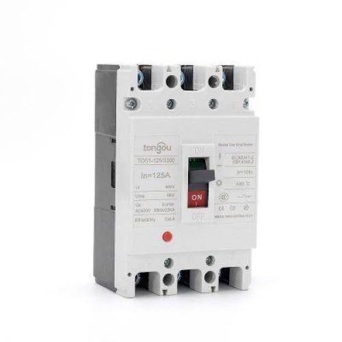 TOS1 125A 3 Pole MCCB Moulded Case Circuit Breaker