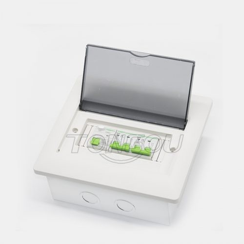 TONGOU 5 years warranty flush mounting 6 – 8 ways distribution consumer unit 63A 2P RCD circuit breaker protection metal base box