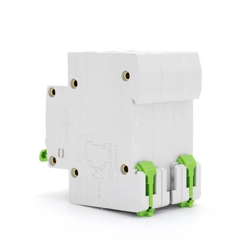 TOMC3-63 3KA 110V 220V Curve C 3P 25A Mini Circuit Breaker MCB