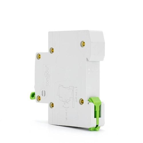 TOMC3-63 3KA 110V 220V Curve C 1P 40A Miniature Circuit Breaker MCB