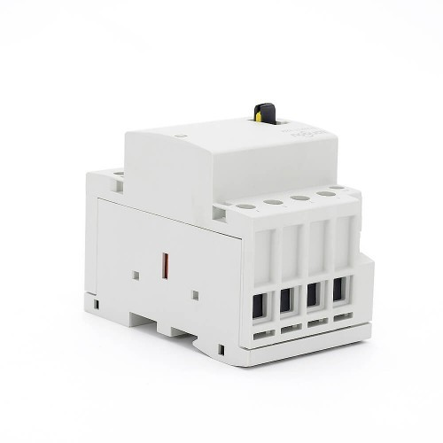 40 amp 4 Pole Contactor AC 4NO CE CB Din Rail Household Modular With Manual Control Switch TOWCTH-40/4