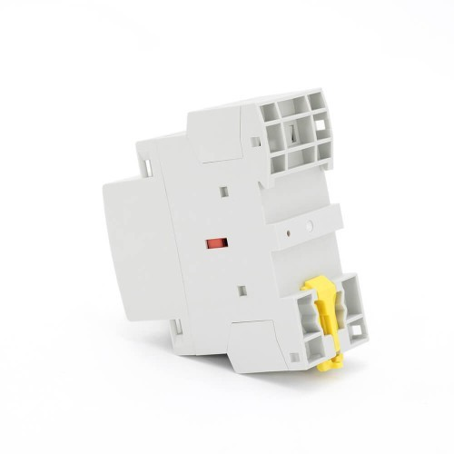 20 amp 4 Pole Contactor AC 4NO CE CB Din Rail Household Modular With Manual Control Switch TOWCTH-20/4