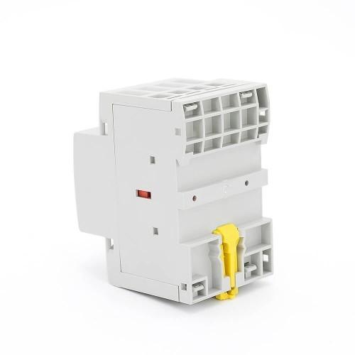 4 Pole Contactor 230v Coil AC 63A 4NO Din Rail Household Modular TOWCT-63/4