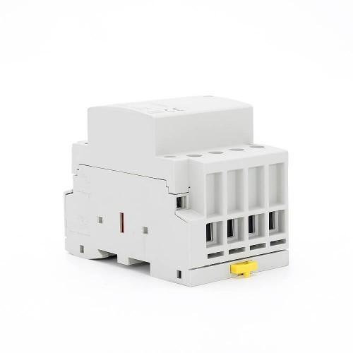 4P 32 Amp Contactor Price AC 4NO Din Rail Household Modular TOWCT-32/4