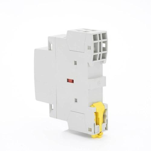20 amp 2 Pole Contactor AC 2NO CE CB Din Rail Household Modular 220V/230V TOWCT-20/2