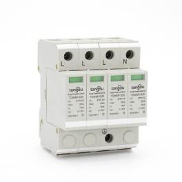 SPD 10KA~20KA 4 Pole Surge Protector House Protection Protective Low-voltage Arrester Device