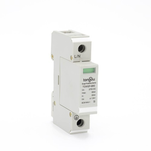 3 Phase Surge Protector SPD 30~60KA House Low Voltage-TONGOU