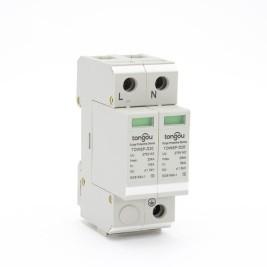 AC Home power surge protector SPD 1P+N 10KA~20KA | TONGOU