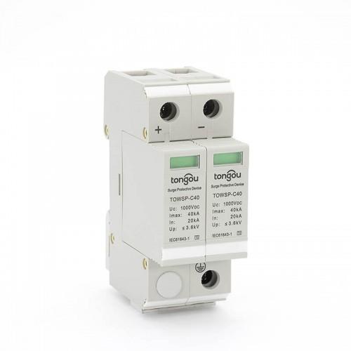 DC Electrical Surge Protector SPD 1000V 20KA~40KA For House