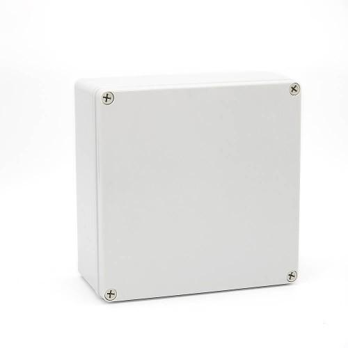 IP67 200*200*130 mm Waterproof Electrical Plastic Junction Box ABS M3-202013