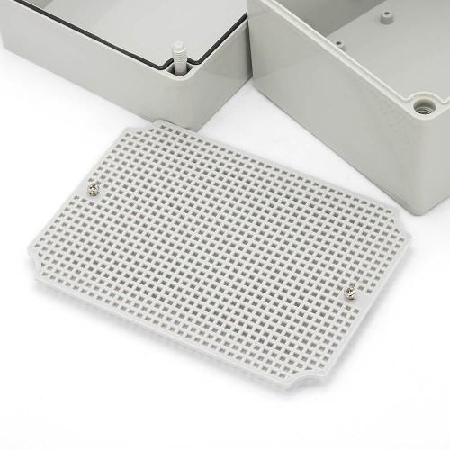 IP67 200*150*130 mm Waterproof Electrical Plastic Junction Box ABS TOM3-201513