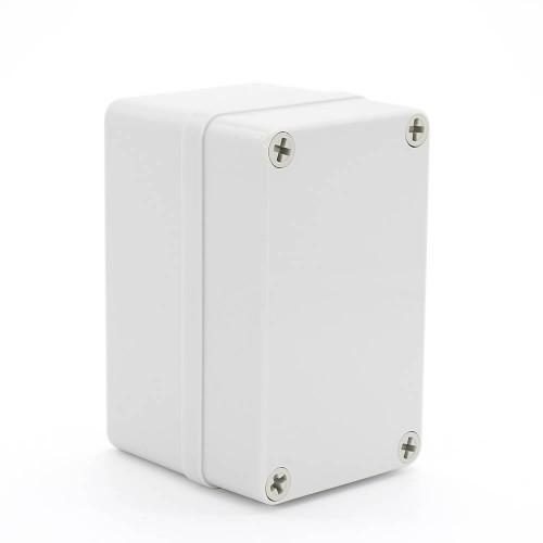IP67 130*80*85 mm Waterproof Electrical Plastic Junction Box ABS TOM3-130808
