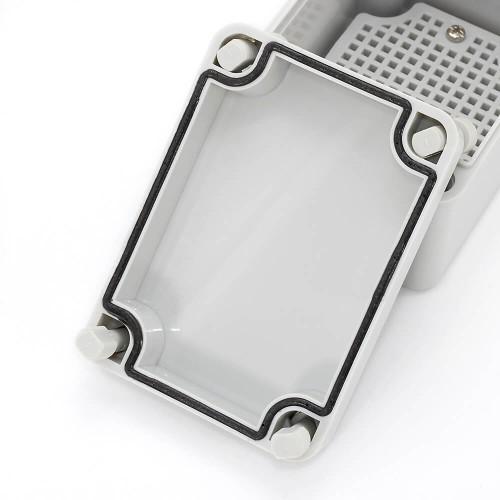 IP67 110*80*85 mm Waterproof Electrical Plastic Junction Box ABS TOM3-110808