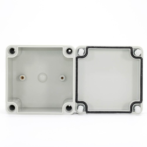 IP67 100*100*75 mm Waterproof Electrical Plastic Junction Box ABS TOM3-101007
