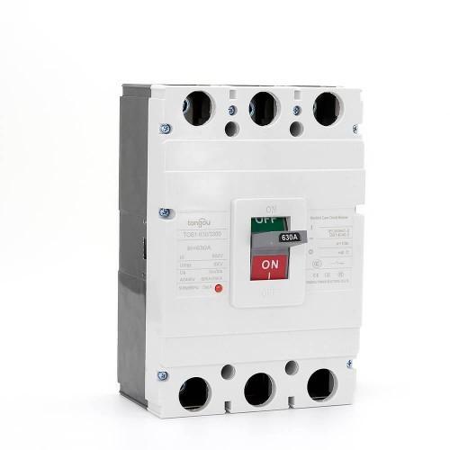 TOS1 630A 3 Pole MCCB Moulded Case Circuit Breaker