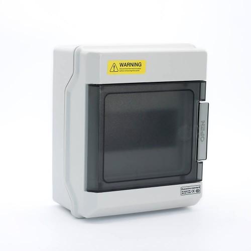 6 Ways IP66 PC Waterproof Distribution Box Switch Box Breaker Box