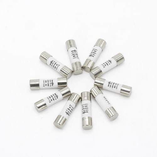 1000V DC Fuse Photovoltaic 3A 10A 15A 20A 25A 30A PV Solar Fuse for Solar Power System Protection 10*38MM