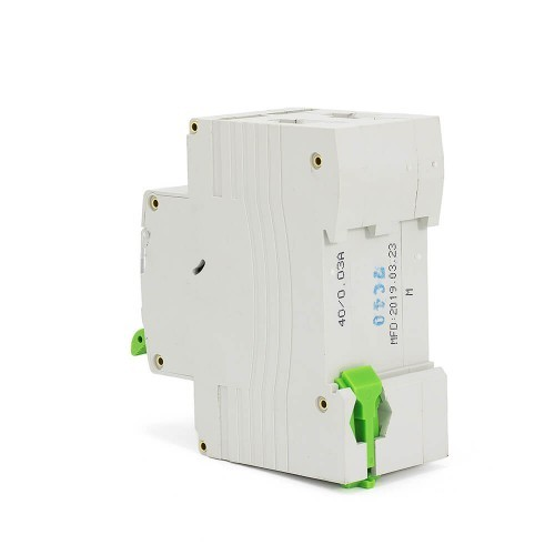 TOBD5-63 RCBO 16A-50A 30mA 6KA 1P+N Residual Current Circuit Breaker With Overcurrent Protection