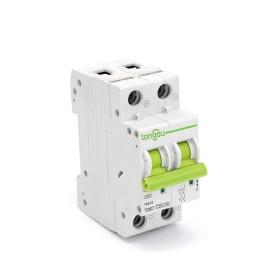 TOMC7-63 63A 2P DC MCB Mini Circuit Breaker for Solar Energy