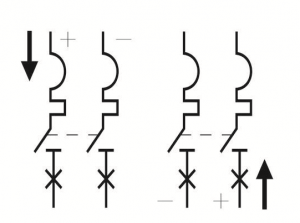 connect-2P-550V-DC-MCB-correctly