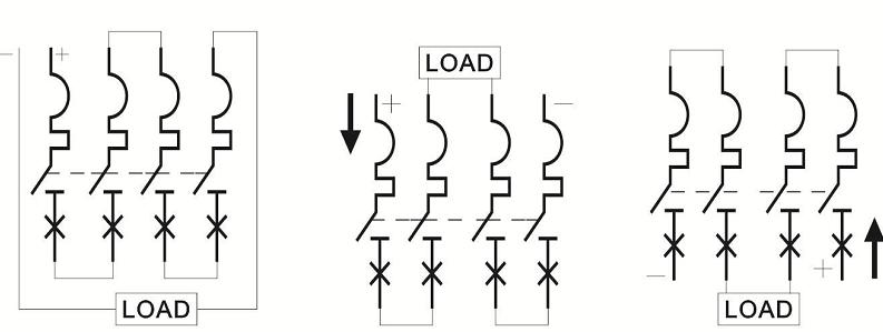 connect-4P-1000V-DC-MCB-correctly