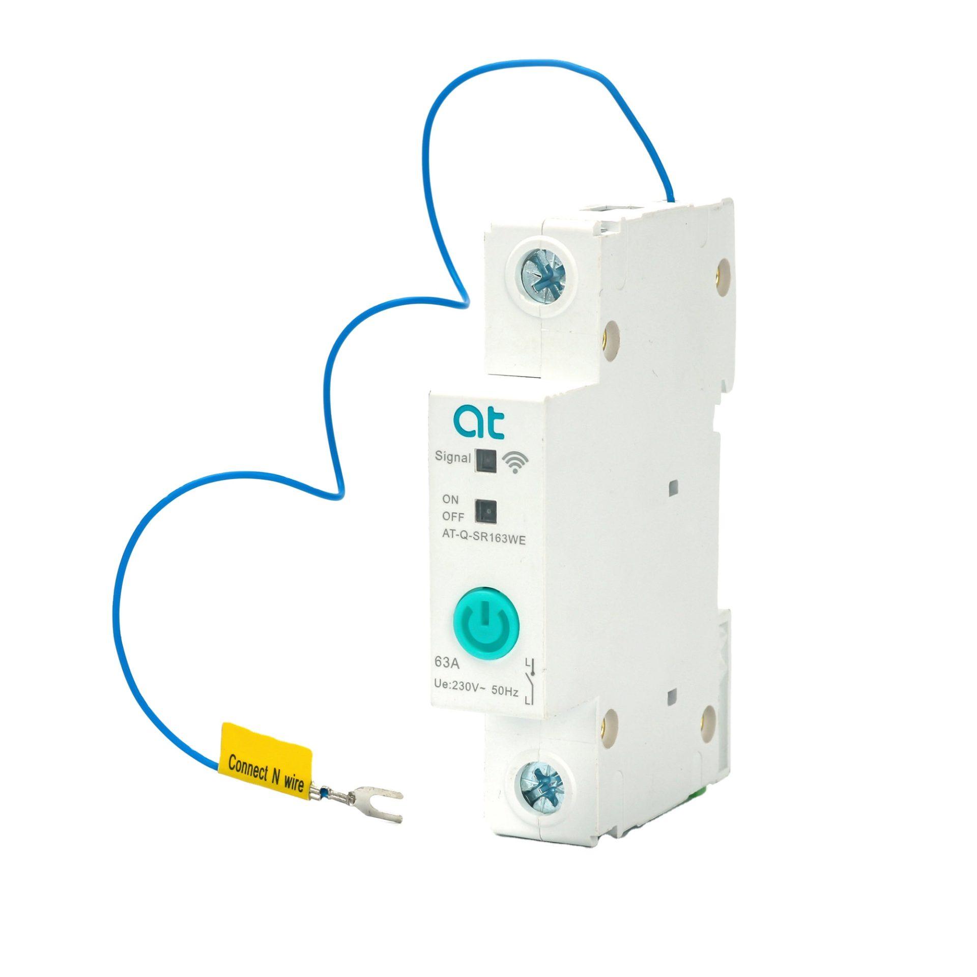 1P-63A-DIN-Rail-WIFI Circuit Breaker