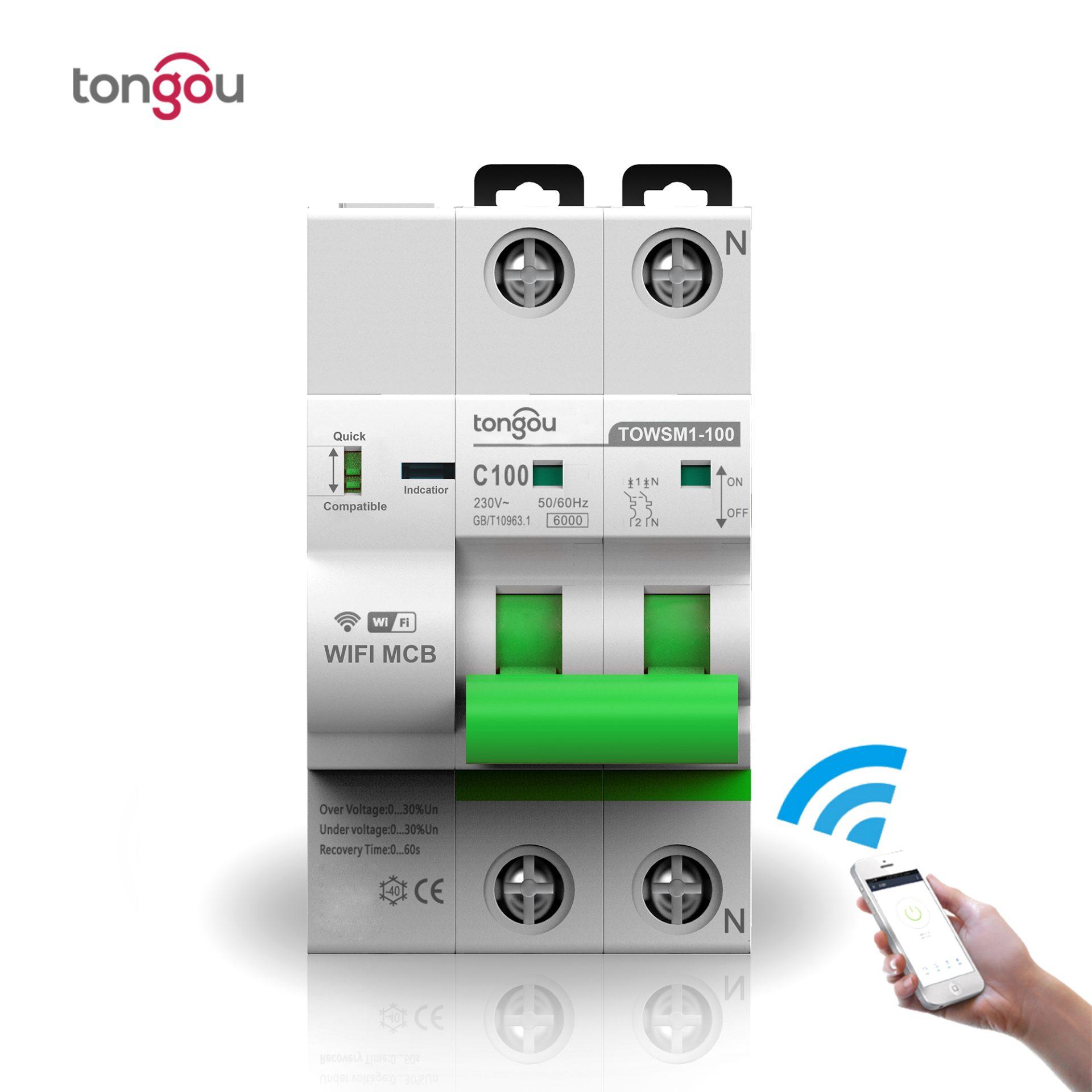 1P-N-3P-N-WiFi Smart Breaker