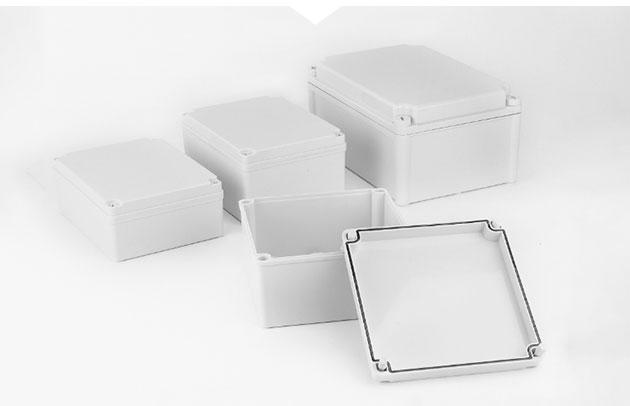 Plastic waterproof junction box