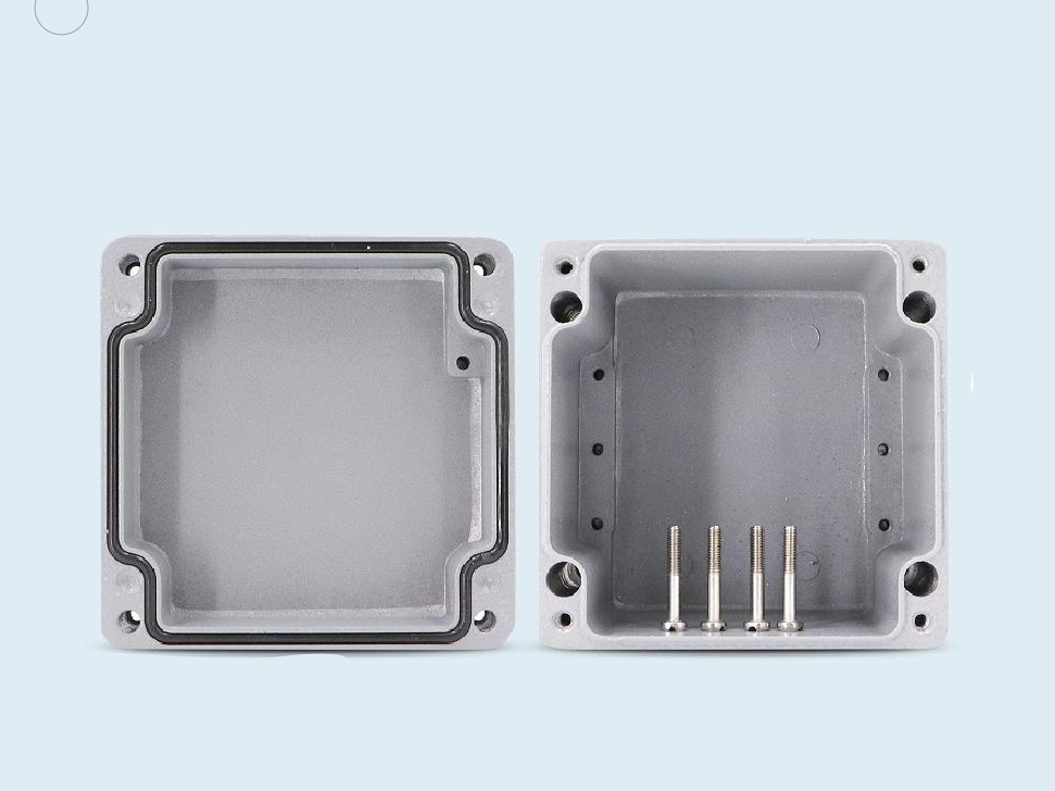 Aluminum waterproof junction box